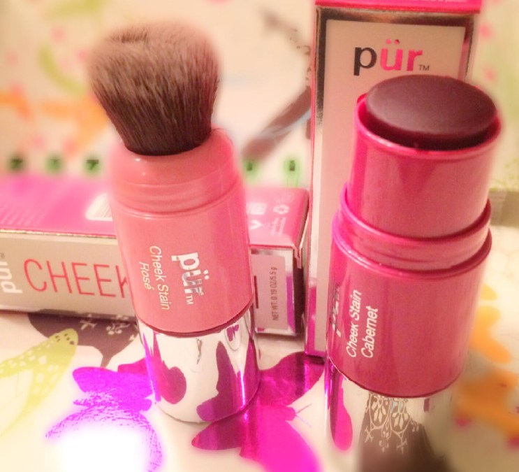 The Dish with DDR: Wine Not? (Pur Minerals Chateau Cheek Stains)