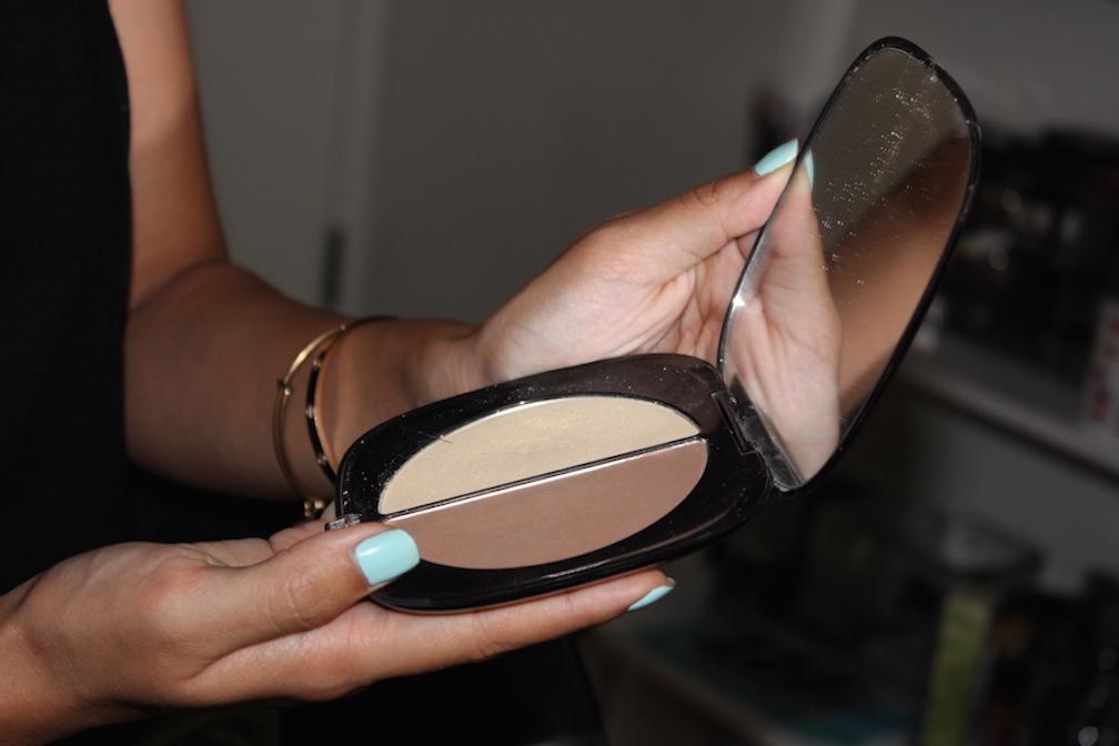 8 melanie mini makeover lashes contour highlight powder