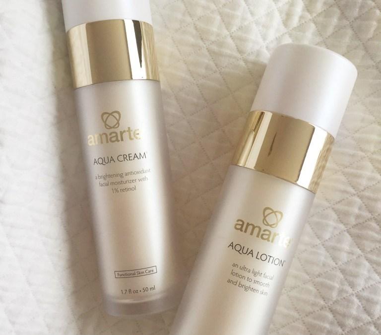 Amarte Aqua Lotion and Aqua Cream