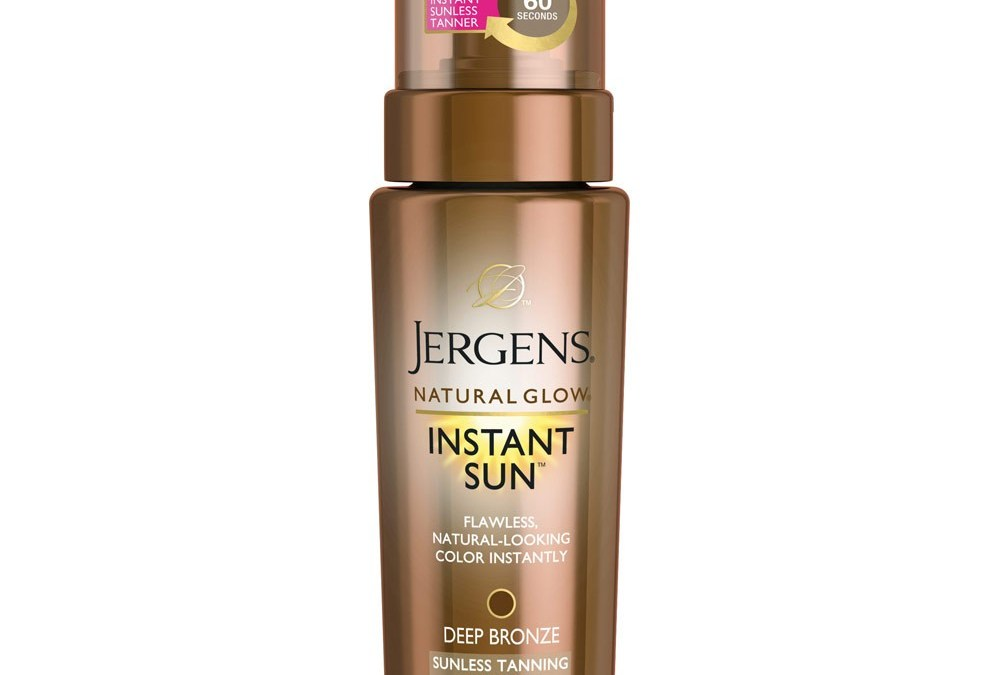 Sun-Kissed On A Budget, with Jergens Instant Sun
