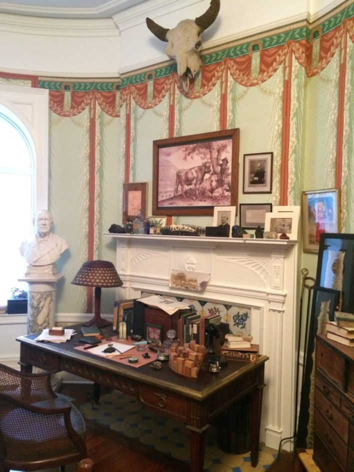 Gifford Pinchot's office at Grey Towers