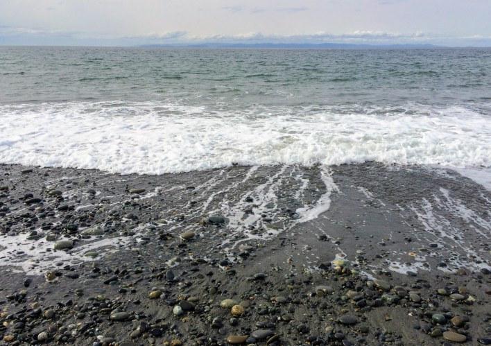 Waves at Dungeness Spit