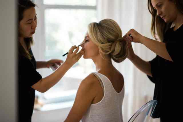 bridal hair & makeup portfolio | nyc | lauren decosimo