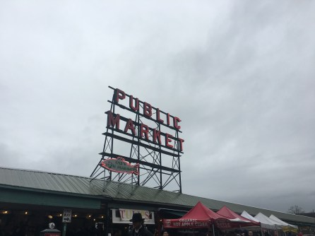 Pike Place Market and its infamous signs