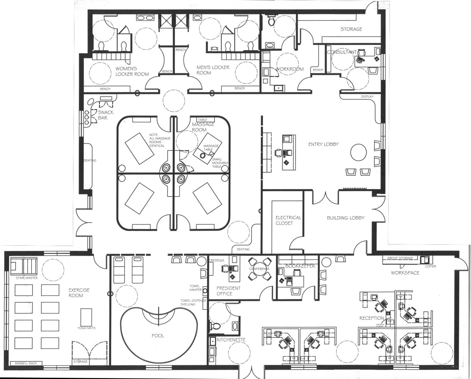 20 Pictures Locker Room Floor Plans