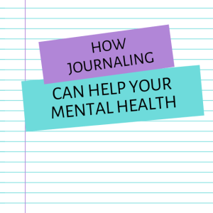 How journaling can help your mental health booklet