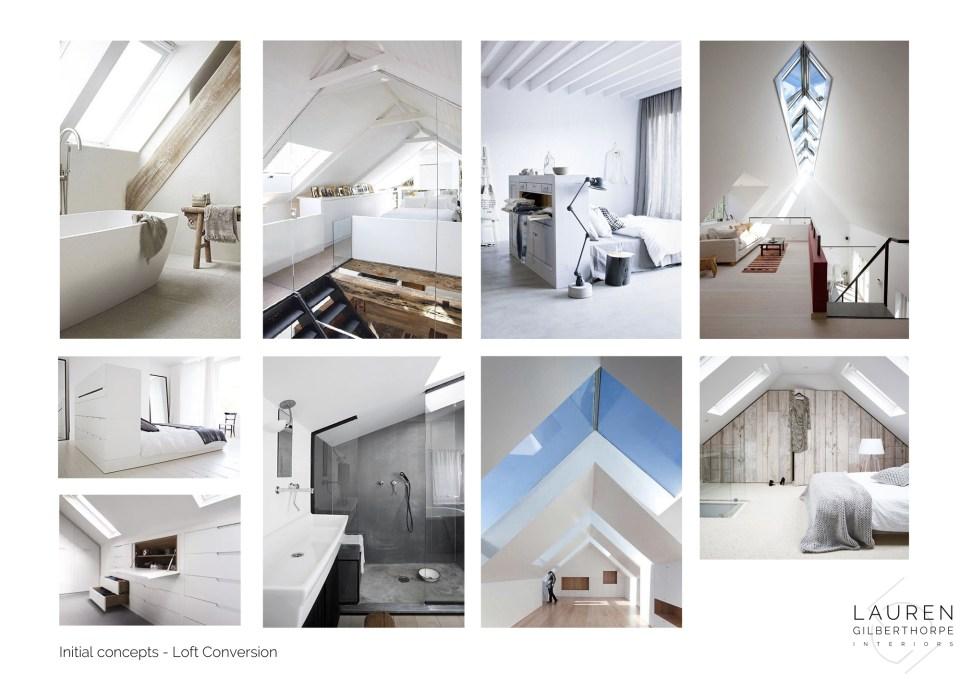 Interior Design Concept Board Berkhamsted