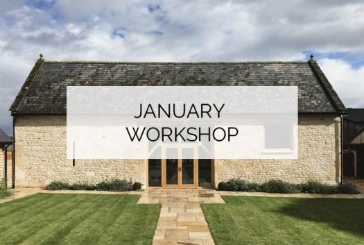 Cotswold interior design workshop
