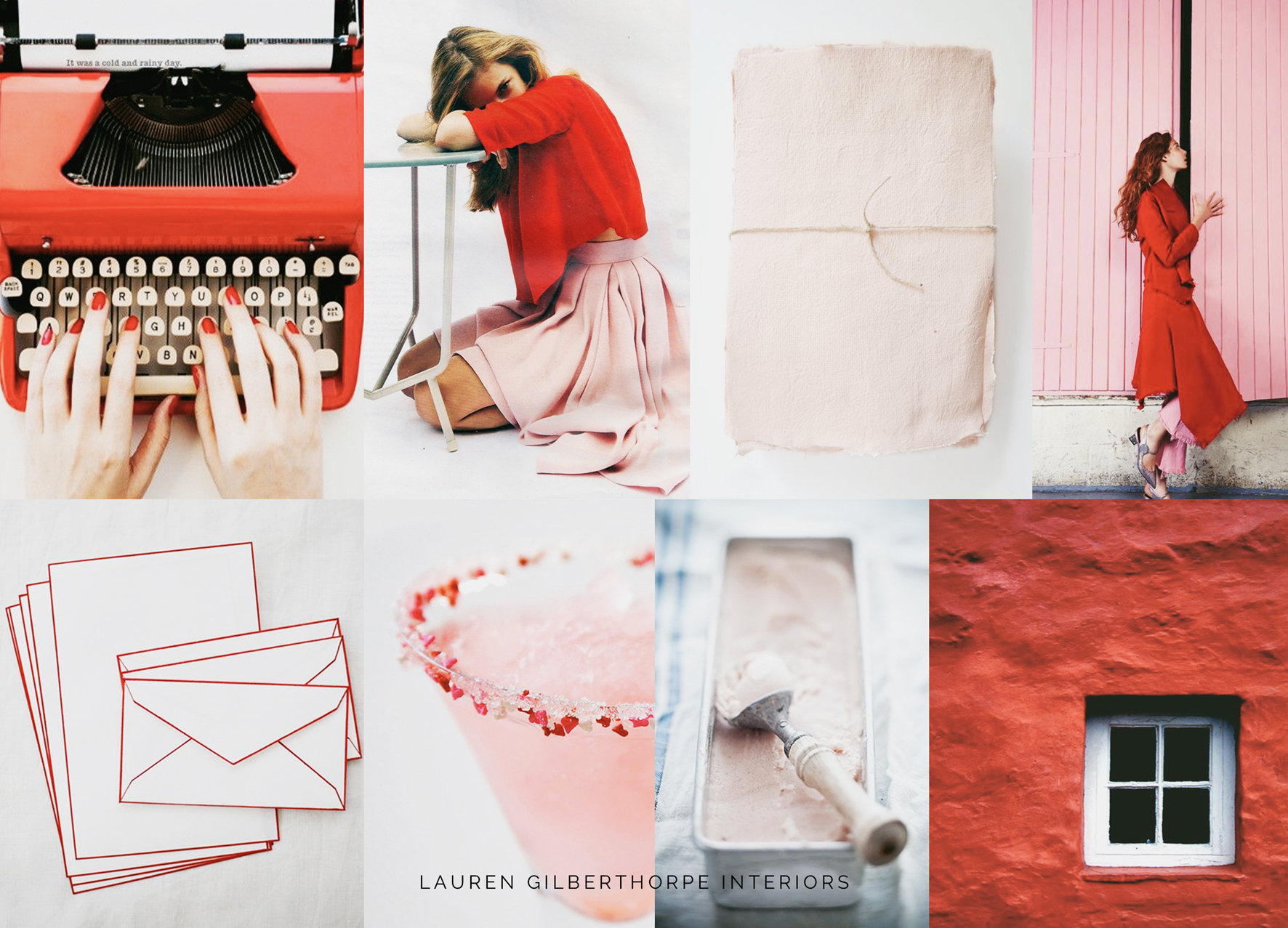 Interior Design Red and Pink