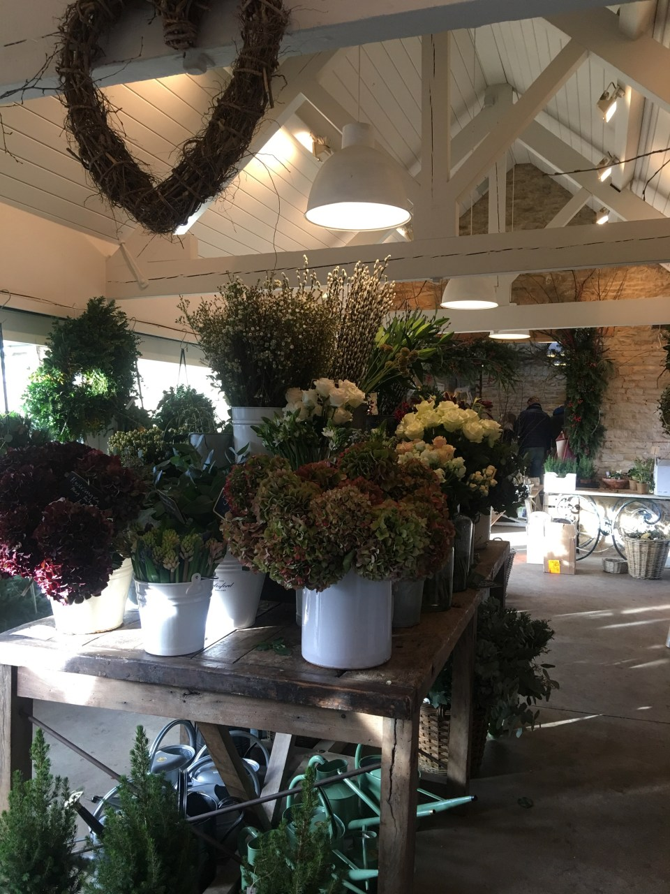 Floristry Christmas in the Cotswolds