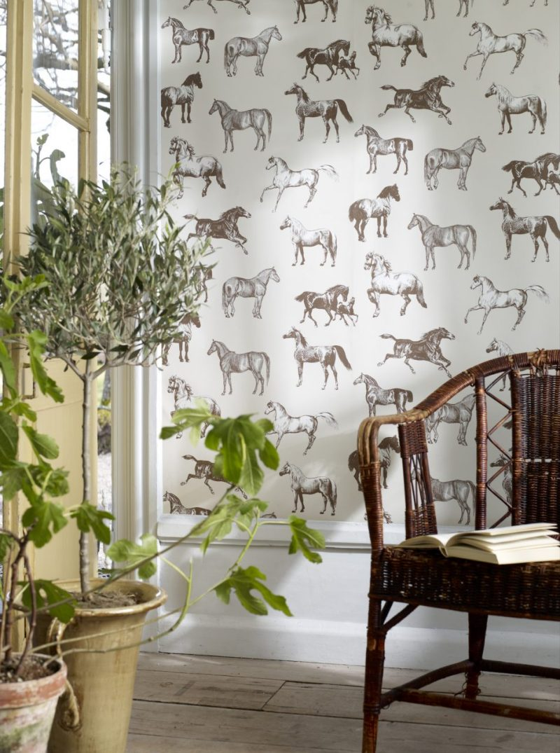Horse wallpaper Cheltenham races country house Cotswolds