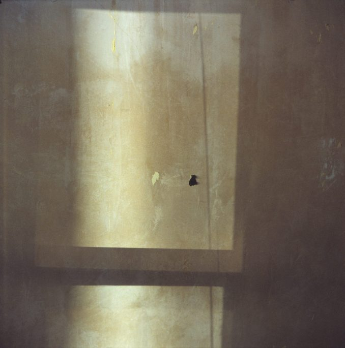 Pale light in wall (Photographic print)