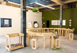 Installation in NewBridge Project Space