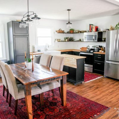 Remodeling Our Brick Ranch: Kitchen & Dining Room Reveal