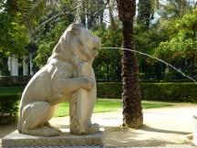 Fuente de los leones, Parque María Luisa