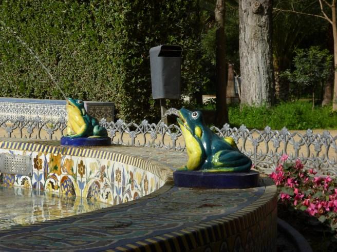 Fuente de las ranas, Parque María Luisa
