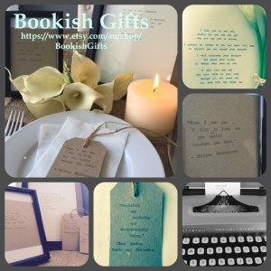 Bookish Gifts @ Etsy
