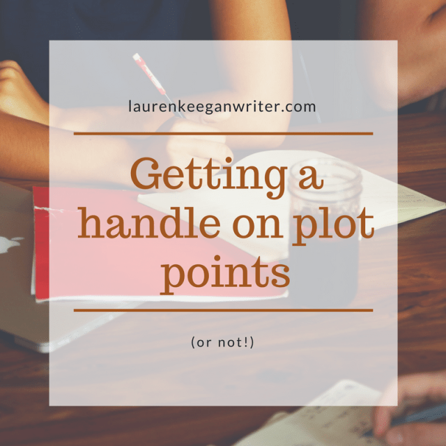 Getting a handle on plot points