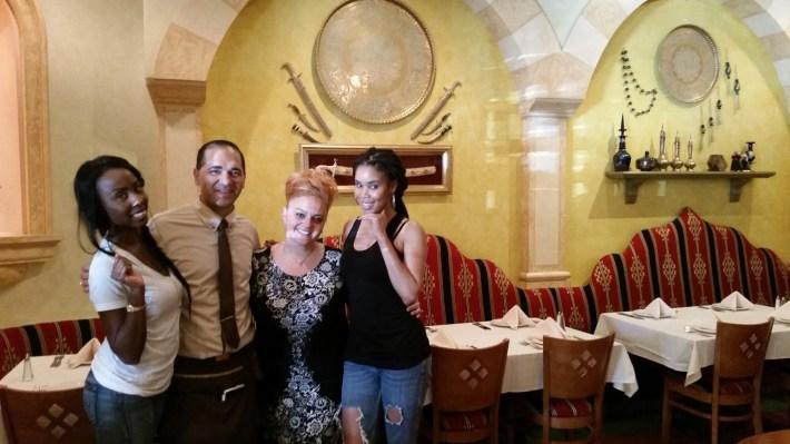 Monet Kazaz, Ambersocialla, and Lauren Koontz at Carousel