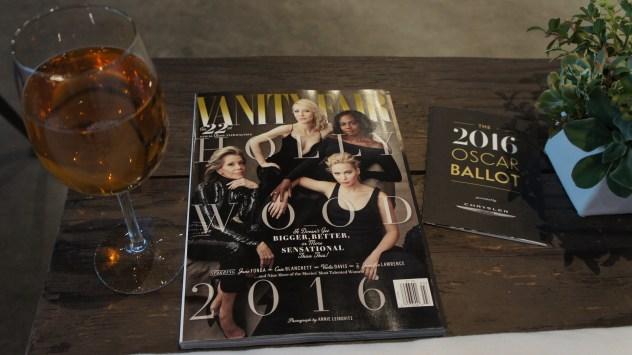 VFSC Vanity Fair Social Club; Stella Artois; Oscars 2016