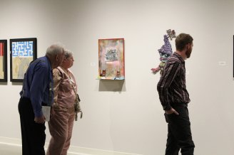 Gallery Viewers - 'Fate Vs. Luck' - Opening Reception