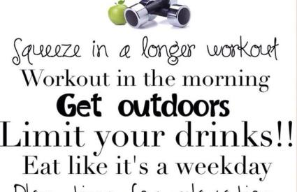 Tips For A Healthier Weekend