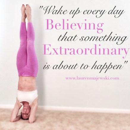 Believe Extraordinary