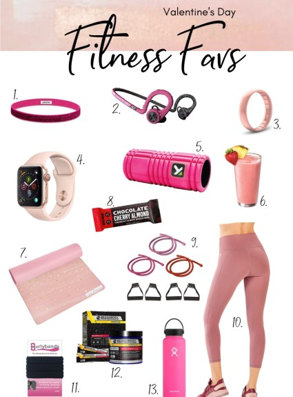 Fitness Favs, Valentine's Day