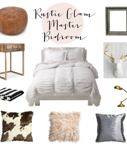 Rustic Glam Master Bedroom Inspiration