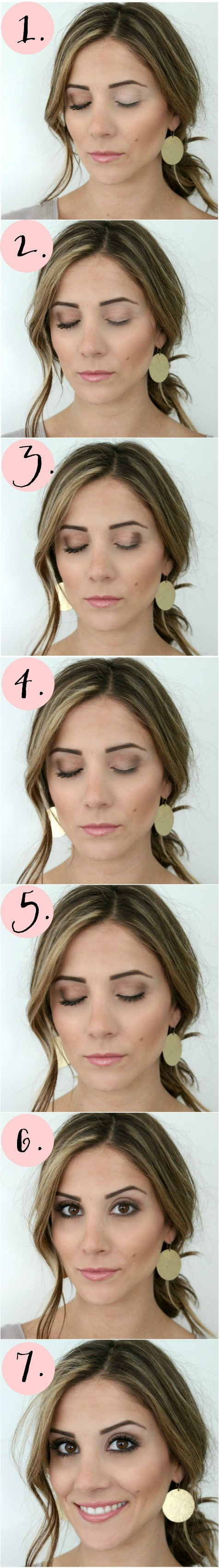 Save this! A simple Smokey Eye Tutorial with Urban Decay Naked Smokey Palette with life and style blogger Lauren McBride!