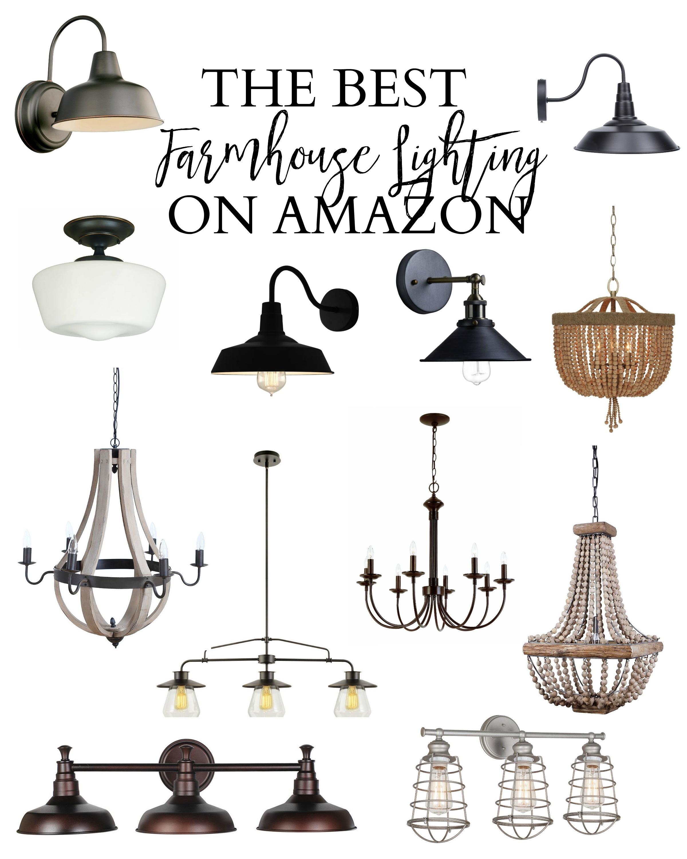 best farmhouse lighting on amazon