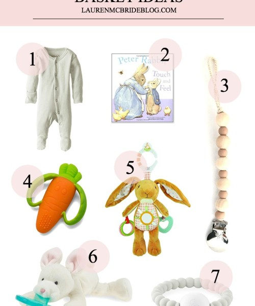 Easter Basket Gift Ideas for Toddlers and Babies