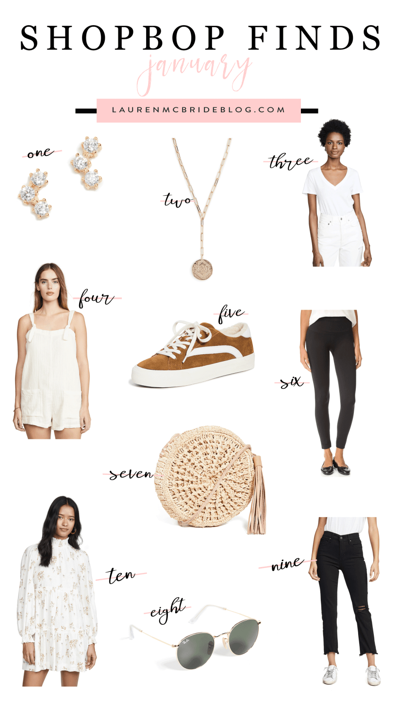 Looking for the best Shopbop Finds this month? Connecticut Lifestyle Blogger Lauren McBride is sharing her top favorite Shopbop finds this month. Click to see them HERE!