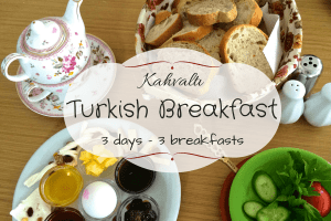 Kahvaltı- Turkish Breakfast