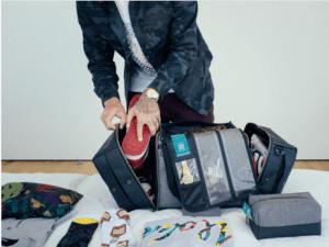 Duffle Bag man