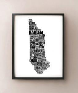 Map New York