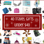 40 Gifts for Travelers Under $40
