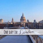 One Day in: London