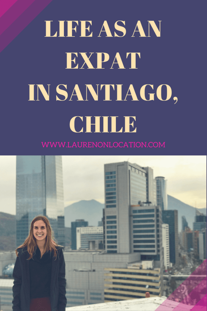 A new vlog/blog series covering life as an Expat in Santiago, Chile. What it's like to live in this modern metropolis!