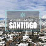 When it Snows in Santiago, Chile