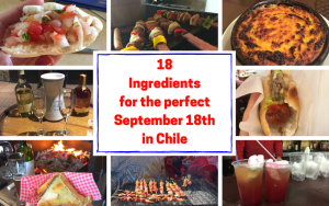18 Ingredients for the Perfect September 18th in Chile