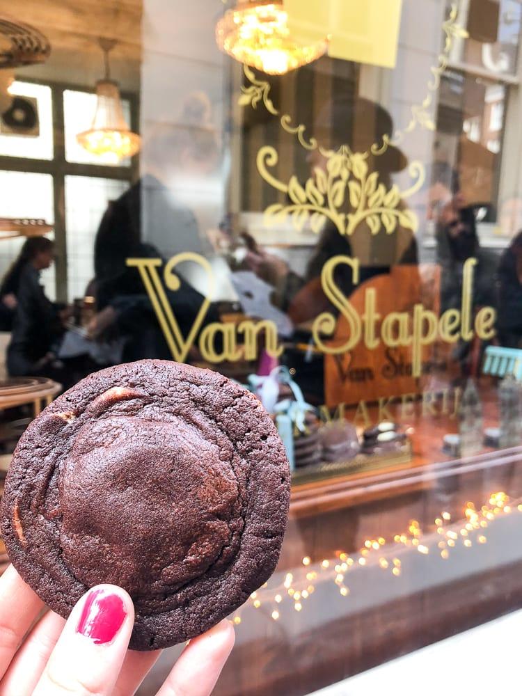 Van Stapele Chocolate Cookies in Amsterdam