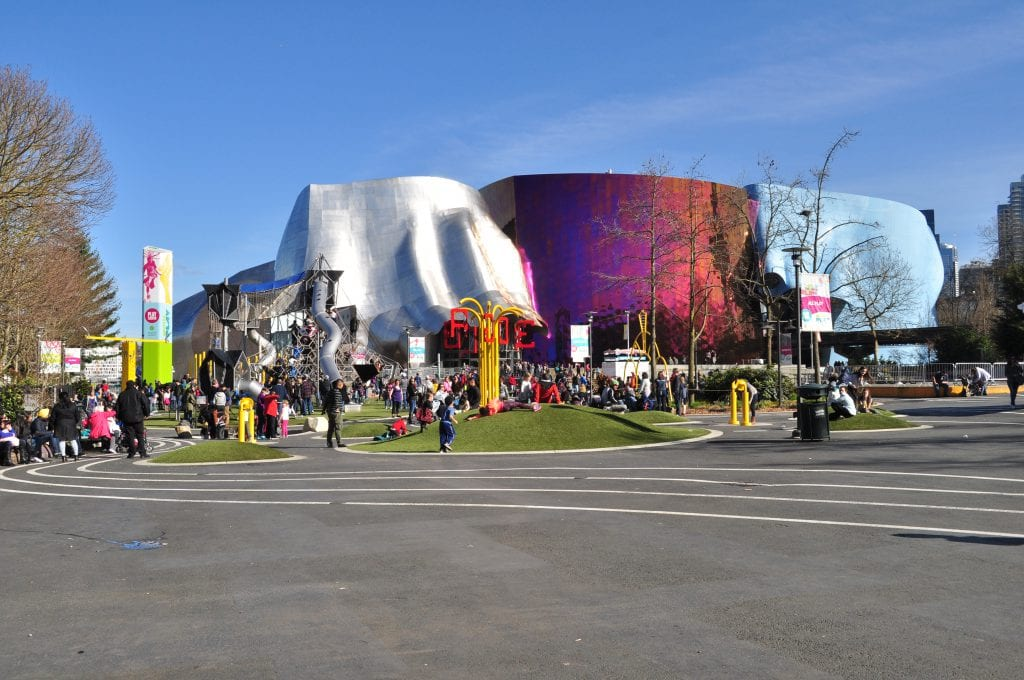 Seattle_Center_-_Artists_at_Play_playground_&_MoPop_01