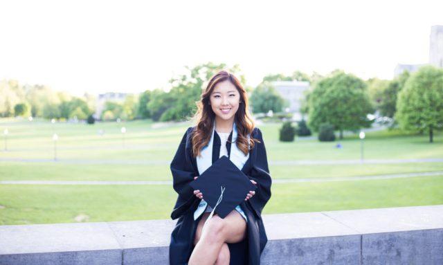 college graduation freshman virginia tech