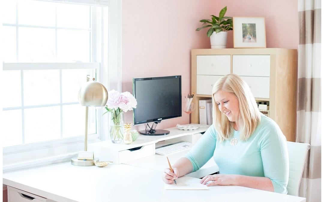 Virginia Calligrapher – Studio Reveal