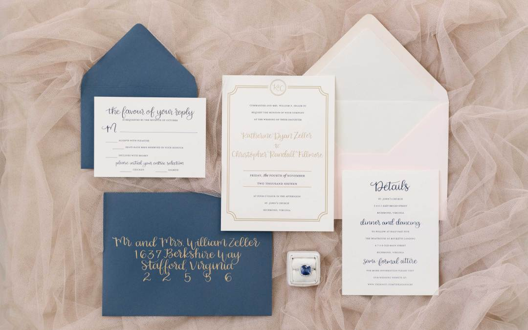 Envelope Addressing – How to make it clear who is, and who is not invited to your wedding!