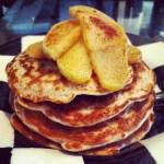 Apple Cinnamon Protein Pancakes!