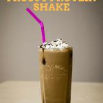 Skinny Keto Chocolate Frosty Protein Shake