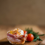 Eggy Bacon Breakfast Muffin