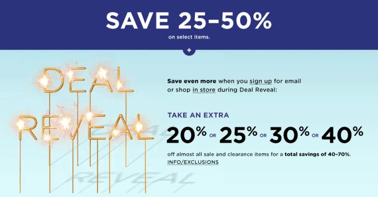 Save big, shop now!